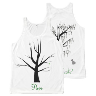 Hope All-Over-Print Tank Top