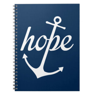 Hope Anchors The Soul (Hebrews 6:19) Notebook