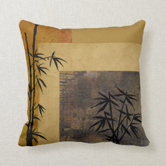 Hope and Bamboo Throw Pillow