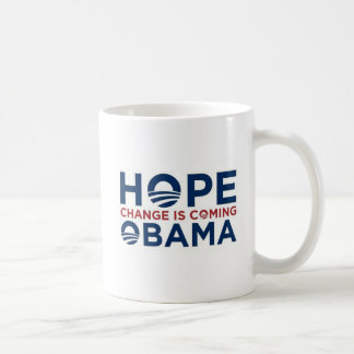HOPE and CHANGE Coffee Mug