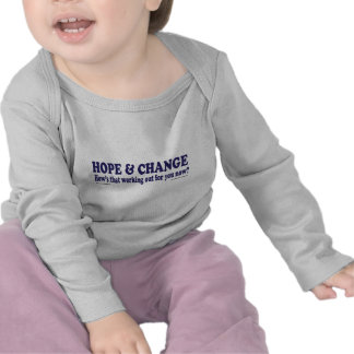 HOPE and Change Hows that working Out for you T-shirt