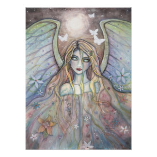 Hope Angel Fairy Poster by Molly Harrison