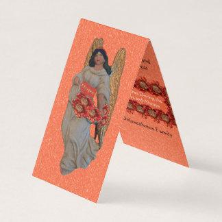 Hope Angel Outrageous Orange Snow Card