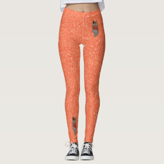 Hope Angel Outrageous Orange Snow Leggings