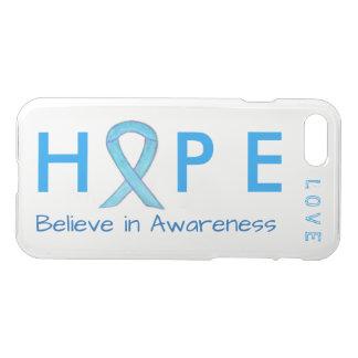 Hope Awareness Blue Ribbon Custom iPhone 7 Cases