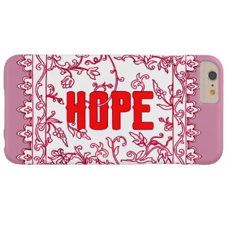 Hope Barely There iPhone 6 Plus Case