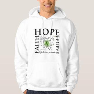 Hope Believe Faith - Lyme Disease Sweatshirt