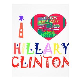 Hope Best Lovely Beautiful Amazing Colorful Hillar Customized Letterhead