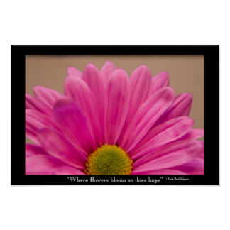 Hope Blooms Poster