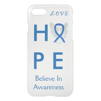 Hope Blue Awareness Ribbon iPhone 7 Case