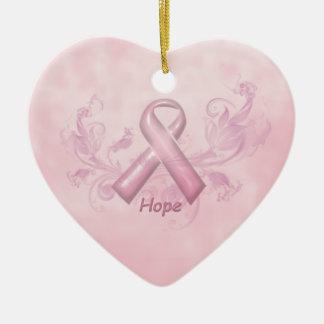 Hope Breast Cancer Awareness Ornament