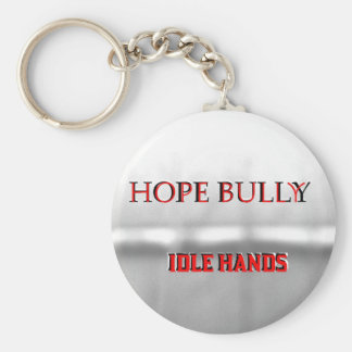 Hope Bully Keychain