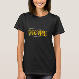 Hope Cancer Awareness Tshirt Childhood Cancer