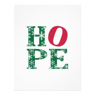 Hope Custom Letterhead
