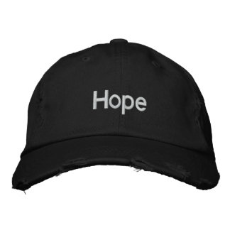 Hope Embroidered Hat