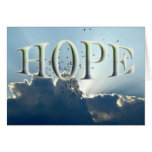 Hope - Encouragement Greeting Card