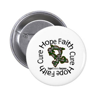 Hope Faith Cure Diabetes Pins
