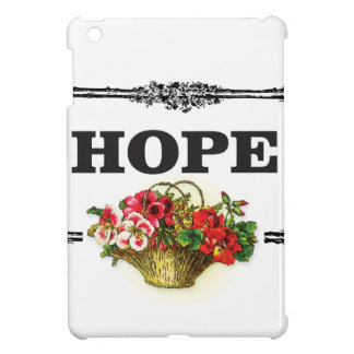 hope flower basket case for the iPad mini