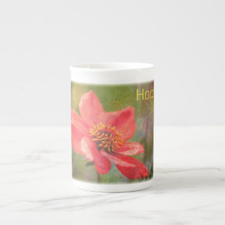 Hope Flower Tea Cup
