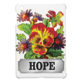 hope flowers case for the iPad mini
