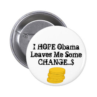 HOPE FOR CHANGE button