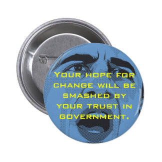 """""""Hope for Change"""" Button"""