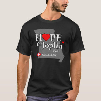 Hope for Joplin Dark T-Shirt