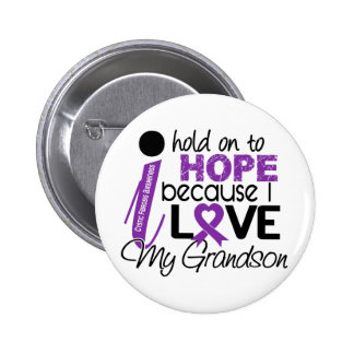 Hope For My Grandson Cystic Fibrosis 2 Inch Round Button