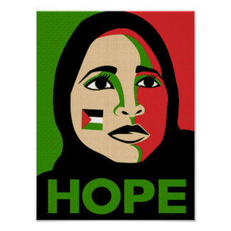 Hope for Palestine Poster