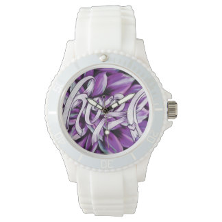 Hope for Pancreatic Cancer floral watch