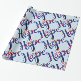 Hope For Peace Wrapping Paper