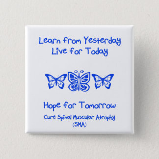 Hope for Tomorrow 2 Inch Square Button