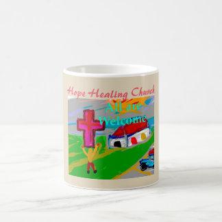 Hope Healing Church All Are Welcome Coffee Mug Cup