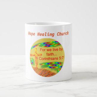 Hope Healing Church Christian Faith Coffee Mug Cup