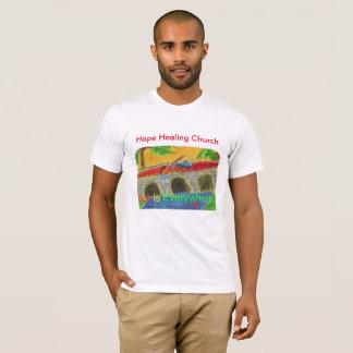 Hope Healing Church Christian Fishing T-Shirt