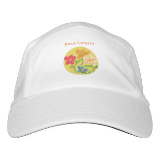 Hope Healing Church Christian Flower Baseball Hat