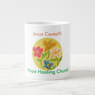 Hope Healing Church Christian Flower Coffee Mug