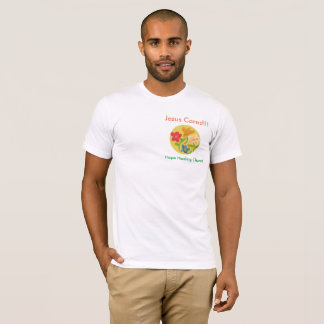 Hope Healing Church Christian Flower Jesus T-Shirt