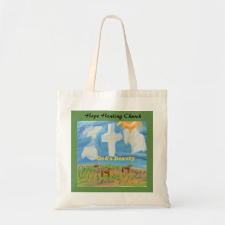 Hope Healing Church Christian God Beauty Tote Bag