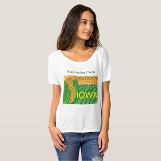 Hope Healing Church Christian Iowa Bella T-Shirt