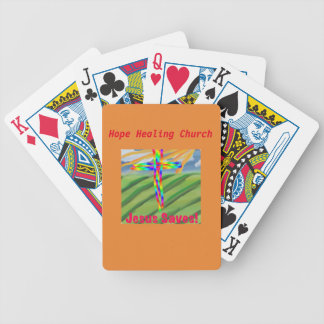 Hope Healing Church Christian Playing Poker Cards