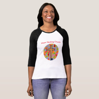 Hope Healing Church Christian Raglan T-Shirt