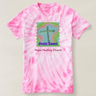 Hope Healing Church Christian Tie-Dye T-Shirt
