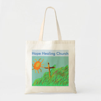 Hope Healing Church Christian Tote Bag