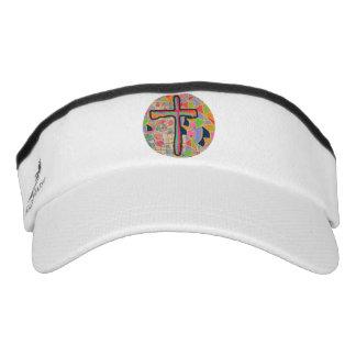 Hope Healing Church Christian Visor Hat Cap Cross