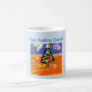 Hope Healing Church Christmas Tree Coffee Mug