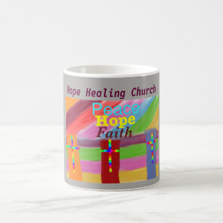 Hope Healing Church Faith Peace Coffee Mug Cup