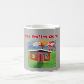 Hope Healing Church God Bless You Coffee Mug