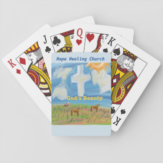 Hope Healing Church God's Beauty Playing Cards