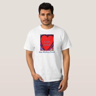 Hope Healing Church I Love Jesus Christian T-Shirt